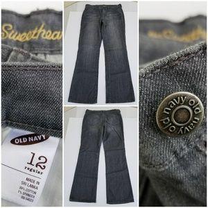 Old Navy Women's The Sweetheart Jeans sz 12